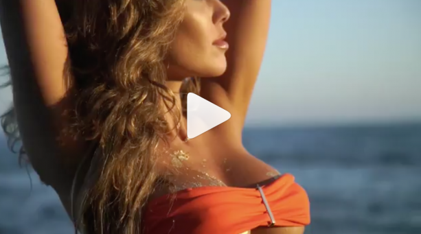 Behind The Scenes With UFC Octagon Girl Brittney Palmer Photo Shoot