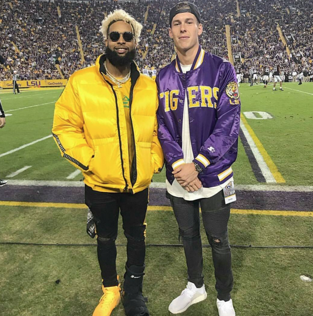 Odell Beckham Jr Continues To Flame Around Town