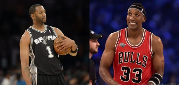 Scottie Pippen & Tracy McGrady debate on the hoodie wearing by the NBA Players