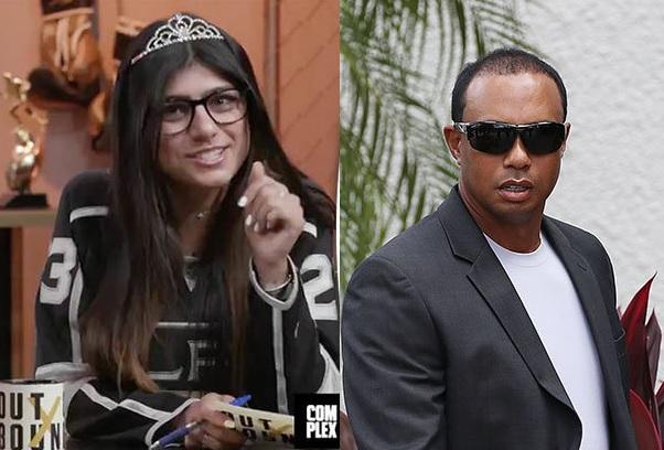 Adult Porn Star Mia Khalifa Explains Her Side on Sliding into Tiger Woods' DMs
