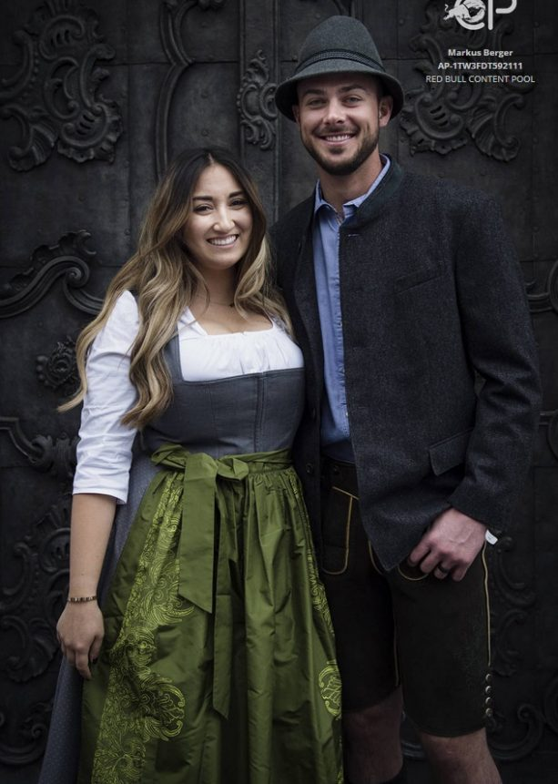 Kris Bryant and his Wife Honeymoon Adventure in Salzburg, Austria