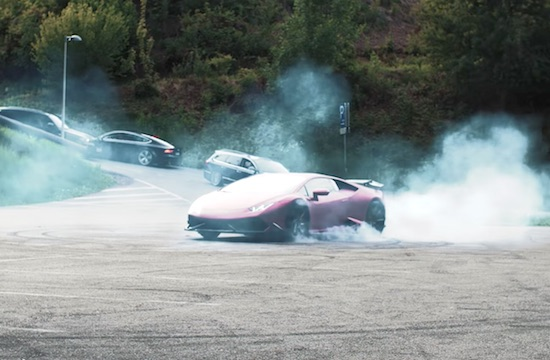 Video- Lamborghini HURACAN | DRIFTING