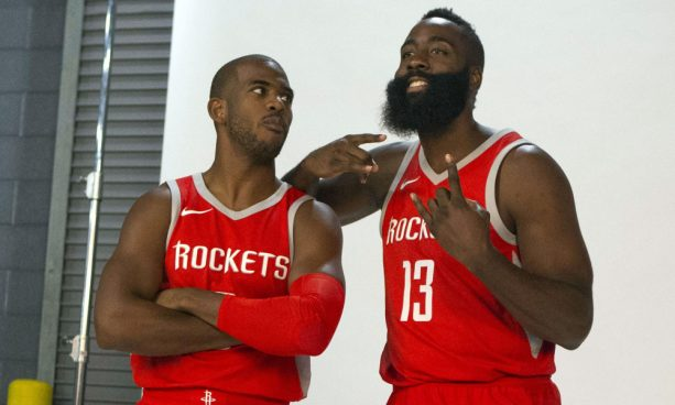 James Harden Calls CP3 a Very Un-PC Way to Describe a Short Person