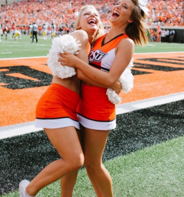Another Cheerleader Ends up on the IR