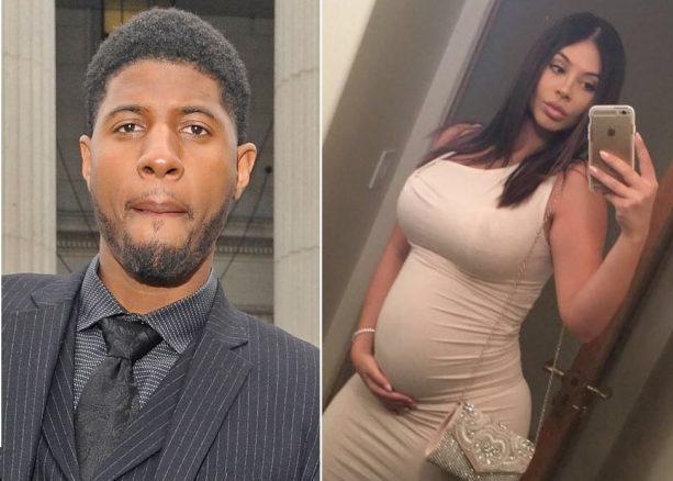 Paul George's Baby Momma Just Showing Off after Having Baby