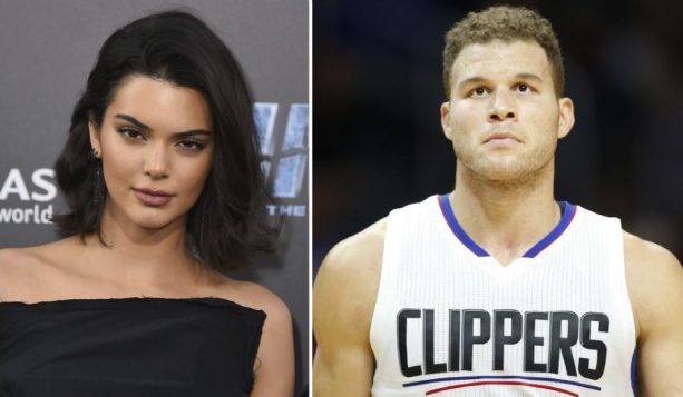 Kendall Jenner Clings to Mystery Male While supporting Boyfriend Blake Griffin