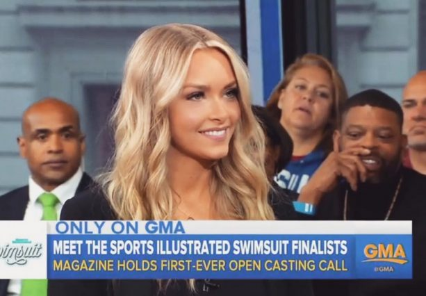 Gronk's Girl Makes it to Good Morning America