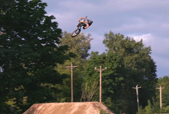 MTB Video- No Hands, New Heights w/ Anthony Messere