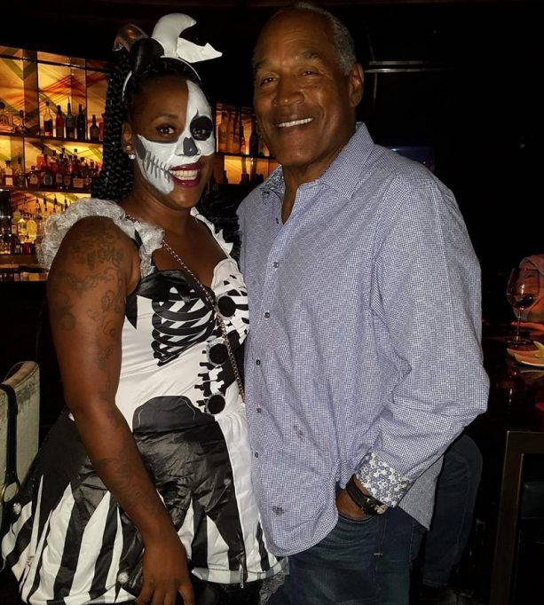 O.J. Simpson Crushing Candy on Halloween