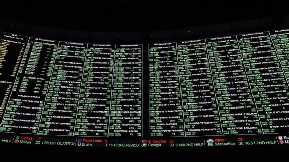 Vegas Is Actually Losing Money at the Sportsbooks