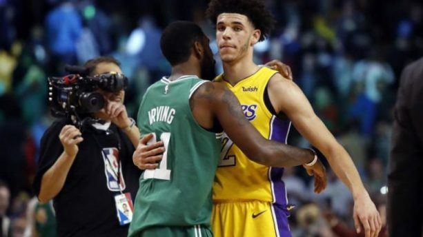 Kyrie Irving Impressed by Lonzo Ball
