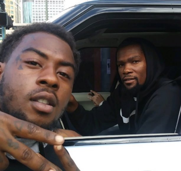 Kevin Durant Caught Getting High with Girlfriend in Tow?