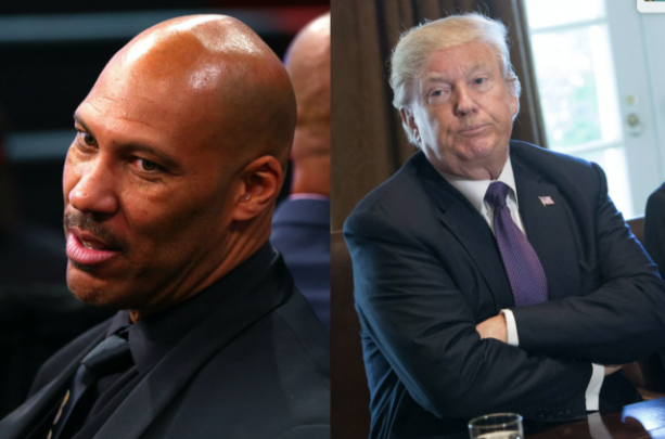 Lavar Ball Doesn't Think Trump Helped His Son?