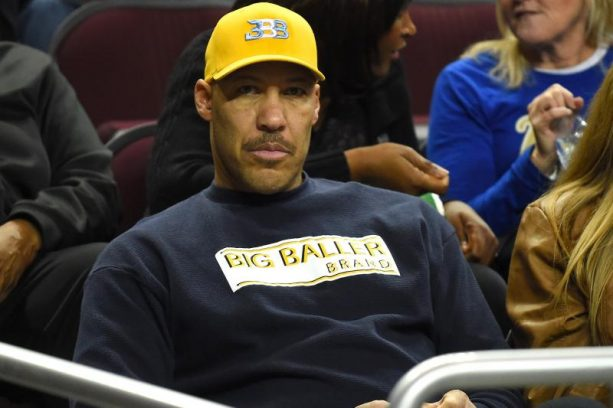 Lavar Ball Spotted Helping His Wife After Stroke