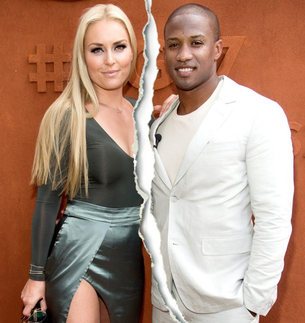 Lindsey Vonn Splitsville with Rams Assistant Coach Kenan Smith