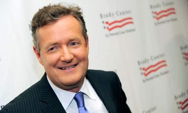 Piers Morgan and WWE star Beefing It Up