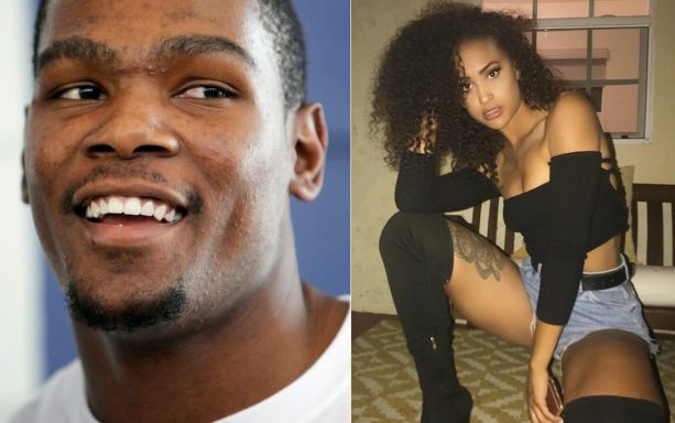 Kevin Durant Likes Him Some Baddie Chick