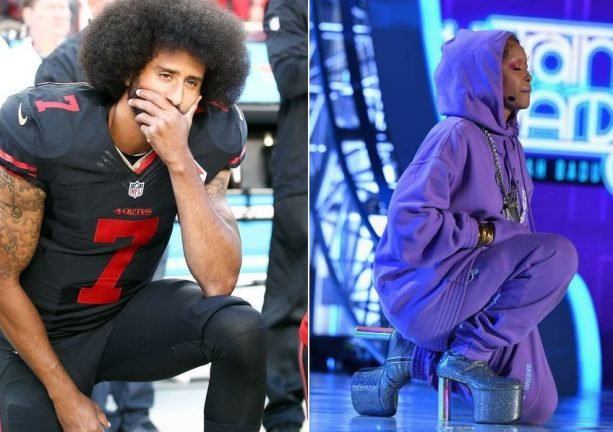 Erykah Badu Pays Tribute to Colin Kaepernick at the Soul Train Awards
