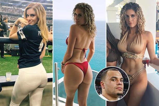 Dak Prescott's Girlfriend not an IG Model?