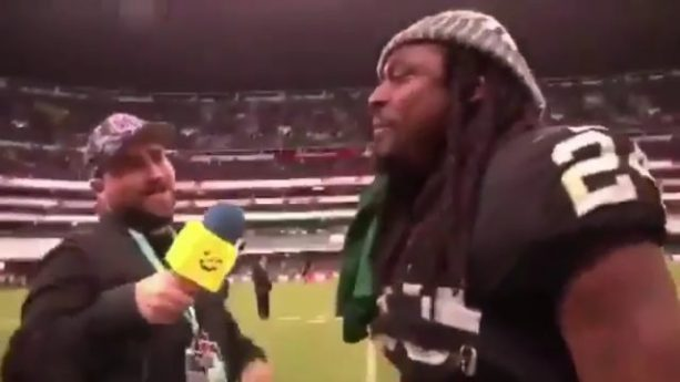 Marshawn Lynch is Riding with Team Mexico