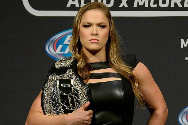 Ronda Rousey About to join the World of Choreographed Wrestling