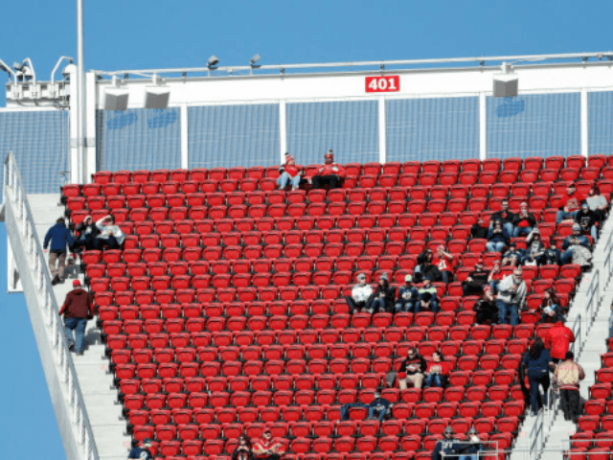 Attendance-Wise It was a Rough Sunday in the NFL