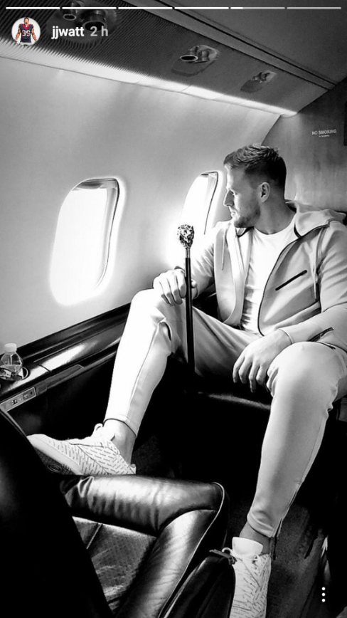JJ Watt's Ego has Turned into Arrogance During trip to NYC?