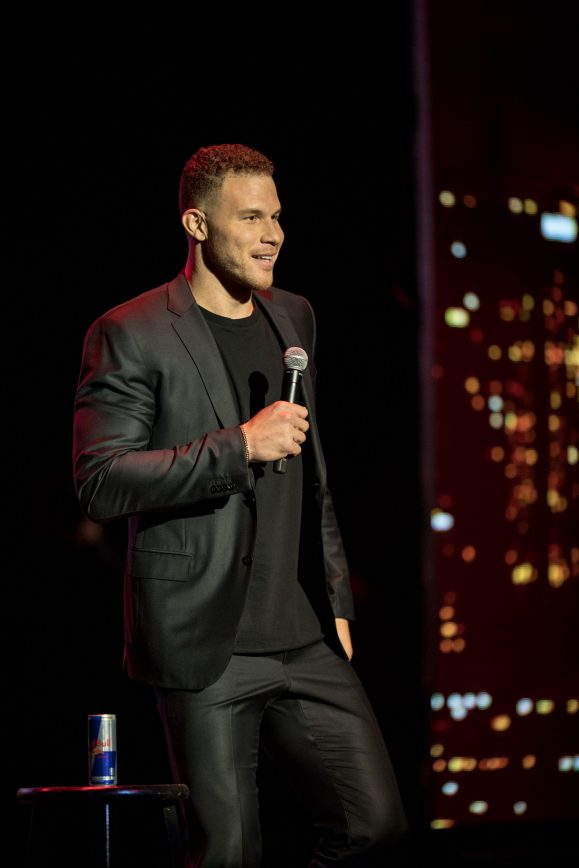 VIDEO: Blake Griffin's First Live Comedy Benefit