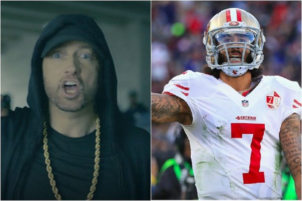 Eminem Shouts Out Colin Kaepernick