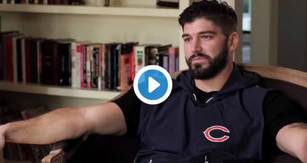 Video- Bears Tight End Speaks After Almost Losing His Leg To A Bad Break