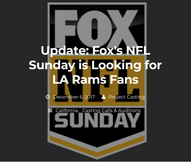 Rams Having To Hire Fans For Home Games?