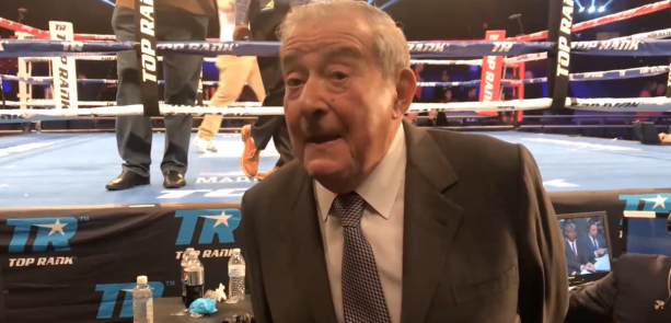 Video- Bob Arum Calls Dana White A Piece Of Sh*t