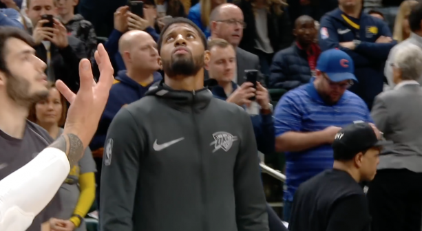 Pacers Fans Boo Paul George During His Return to Indiana