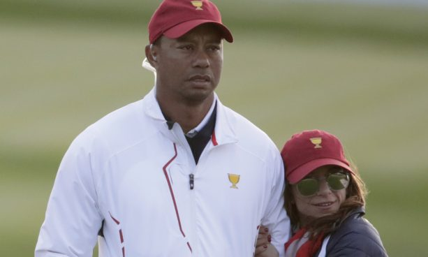It was Tiger's Idea to Match His Girlfriend with his Children