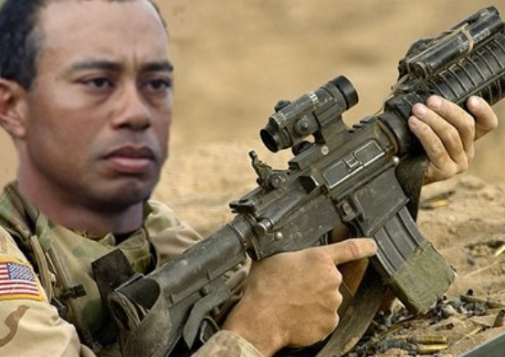 Tiger Woods Allowed to Have Guns and Serve Alcohol, But Still Can't Drink