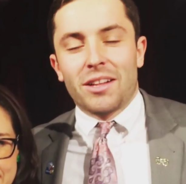 Baker Mayfield Has Lost His Voice