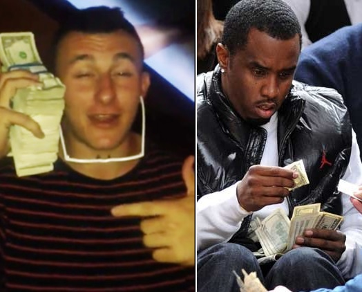 Johnny Manziel Reaches out to Diddy about NFL Ownership