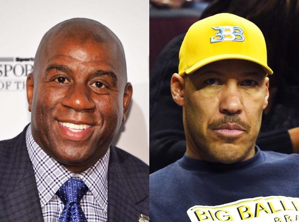 Report: Magic Johnson and Lavar Ball Feuding Behind the Scenes
