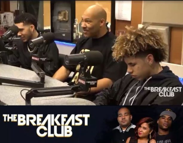 Lavar, Liangelo and LaMelo Hit up the Breakfast Club