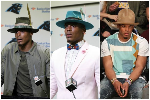 Cam Newton's Hat Game Always Stays Fresh; Check out His Latest