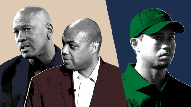 Tiger Woods Ghosted Michael Jordan and Charles Barkley