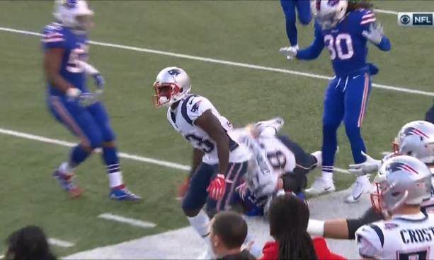 Rob Gronkowski With Dirty Cheap Shot