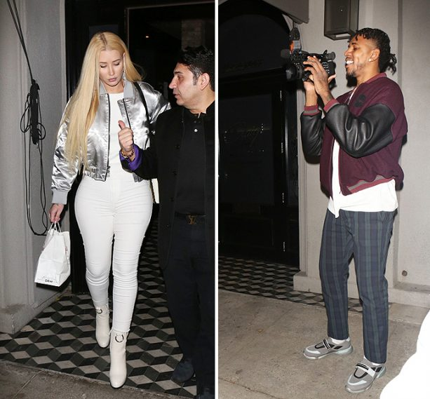 Watch What Happens When Nick Young Bumps Into Ex Iggy Azalea In WeHo!
