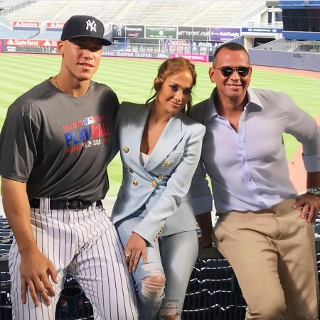 J-Lo Throws A-Rod's Hat into the Ring For Yankees Manager Job