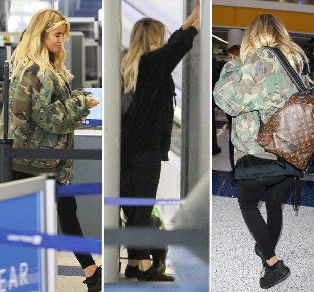 Khloe Kardashina Still Out Faking Her Pregnancy