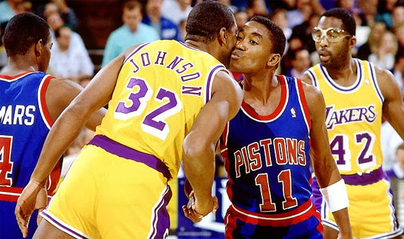 Isiah Thomas and Magic Johnson is the Reconciliation No One Asked For