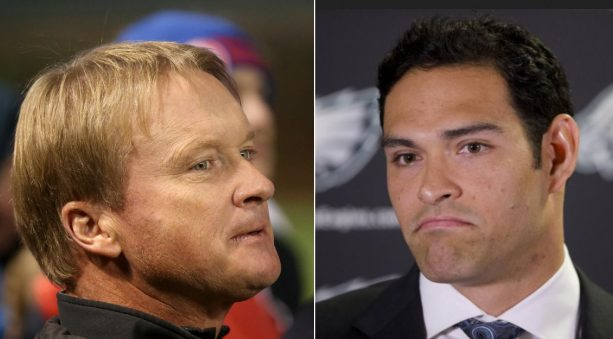 Mark Sanchez Doing a Jon Gruden Impression on the Sidelines