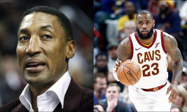 Scottie Pippen Says LeBron Isn't Better Than Him