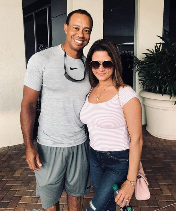 Tiger Woods Got His Christmas Brunch On