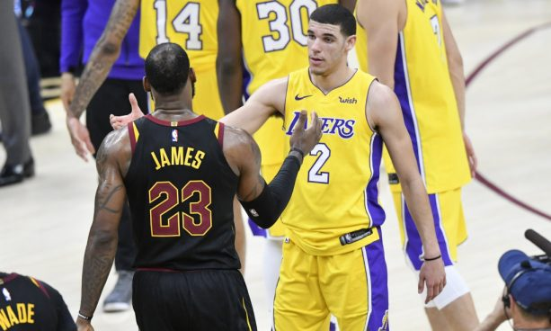 Audio Emerges of What LeBron Said to Lonzo on The Court